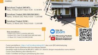 Download Sosialisasi Museum ke Sekolah di Jawa Tengah Tingkat SMA/SMK/MA/MAK