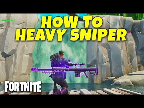 How To Use Heavy Sniper In Fortnite | New Gun Tips