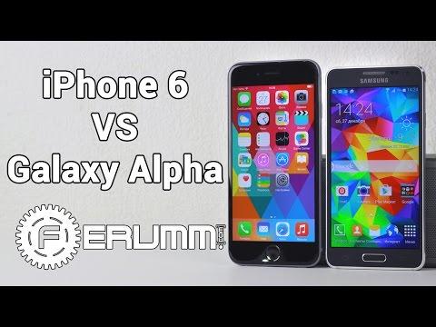 Galaxy Alpha VS iPhone 6 большое сравнение. Что лучше купить iPhone 6 или Galaxy Alpha от FERUMM.COM
