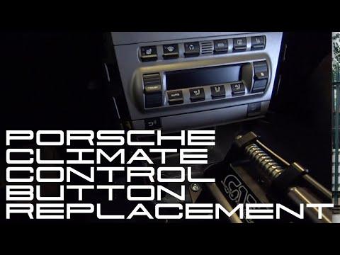 Porsche Cayman Climate Control Button Change
