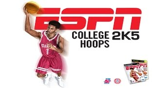 ESPN College Hoops 2K5 - 60FPS (XBOX) - Kansas Jayhawks Gameplay!
