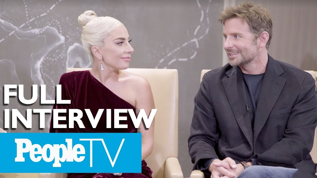 Ver Bradley Cooper & Lady Gaga Dish On A 'Star Is Born,' Singing Together & More (FULL) | PeopleTV en Español