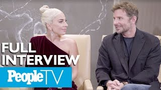 Bradley Cooper & Lady Gaga Dish On A 'Star Is Born,' Singing Together & More (FULL) | PeopleTV Video