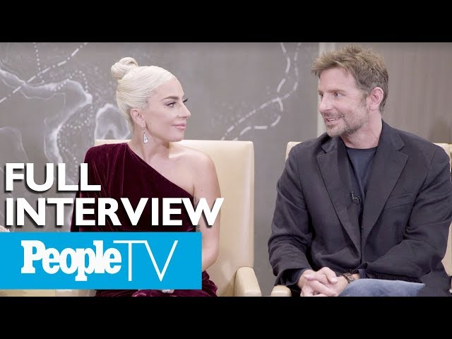 Bradley Cooper & Lady Gaga Dish On A Star Is Born, Singing Together & More (FULL) | PeopleTV