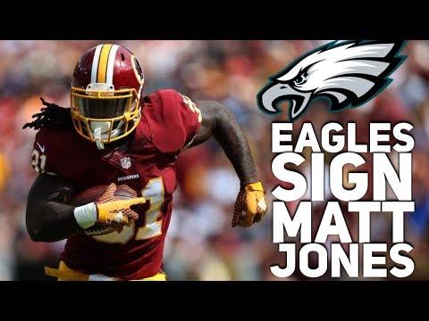 Eagles Sign Matt Jones Running Back