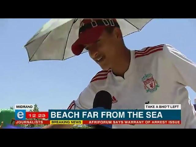 Midrand beach makes a splash