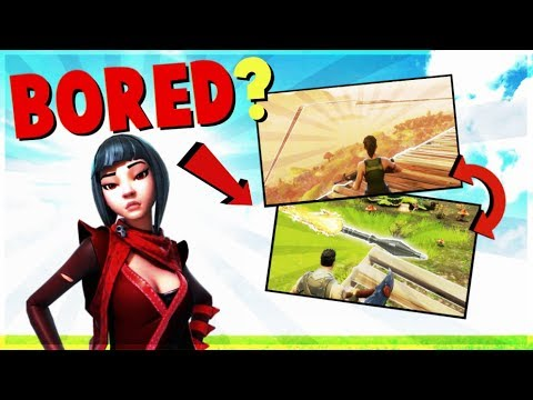 9 Things to Do if You're *Bored* in FORTNITE Battle Royale | Tips and Tricks