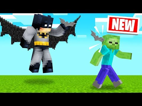 PLAYING As BATMAN In MINECRAFT! (Super Hero)