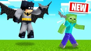 PLAYING As BATMAN In MINECRAFT! (Super Hero)