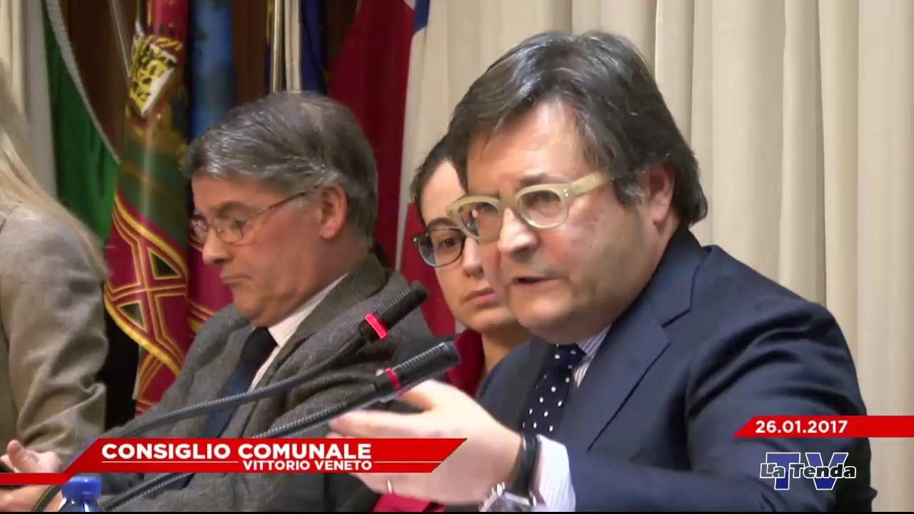 CONSIGLIO COMUNALE VITTORIO VENETO - Seduta del 26.01.2017