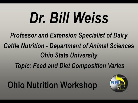 Dr. Bill Weiss - Feed Composition Varies