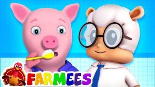 This is the Way We Brush our Teeth + More Farmees Nursery Rhymes & Kids Songs | Baby Cartoon