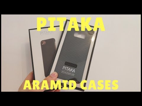 The PITAKA Aramid Fiber case for Samsung S8 and Apple iPhone 7
