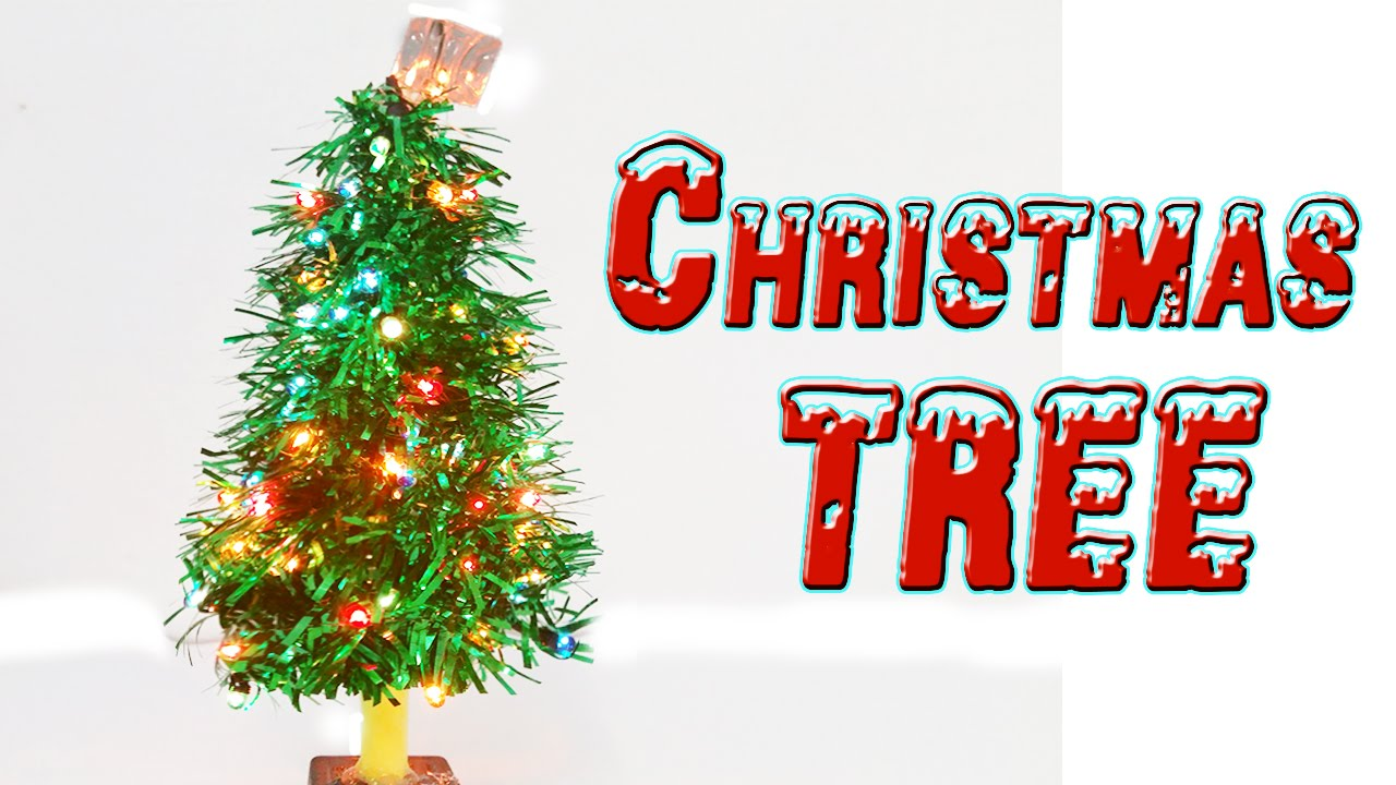 How To Make A Christmas Tree Christmas Craft Ideas Youtube