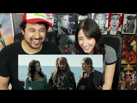 Pirates of the Caribbean: Dead Men Tell No Tales  TV Spot REACTION!
