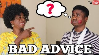 Never Follow Bad Advice In An African Home | Mc Shem Comedian