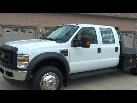 2008 ford f450 crew cab 4x4 6 4l diesel flat bed for sale see www sunsetmilan com youtube. Black Bedroom Furniture Sets. Home Design Ideas