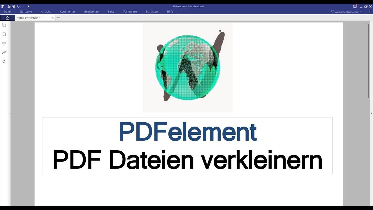 Pdf datei verkleinern mac