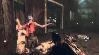 Ownage Black Ops 2 Zombies 95 Kills With GalvaKnuckles In 2 mins