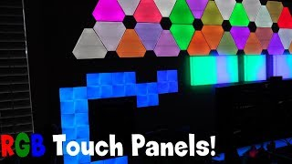 A TOUCH of RGB Heaven! Nanoleaf Canvas Unboxing + First Impressions!