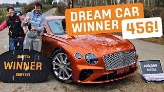 Winner! Week 1 2019 (December 31st - January 6th) - Philip Cottrell - Bentley Continental + £20k