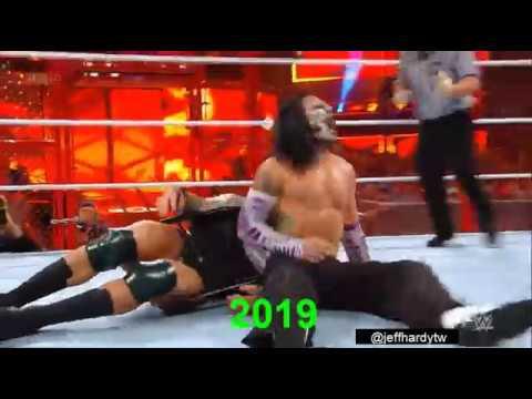 Jeff Hardy Extreme Swanton Bomb Evolution (1999-2019)