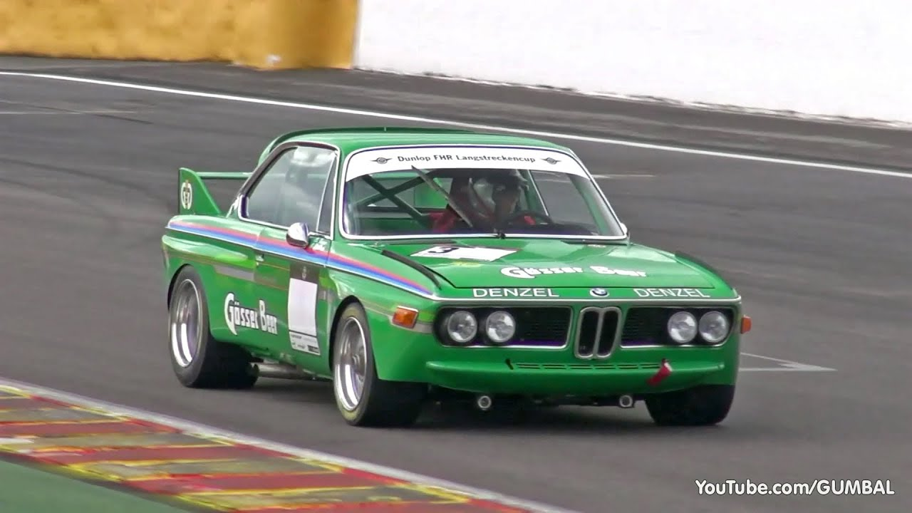 BMW E9 30 CSL Alpina Pure Exhaust Sounds YouTube