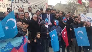 Ülkü Ocakları Bursa İl Başkanlığı: DoĞu TÜrkİstan Basın Açıklaması