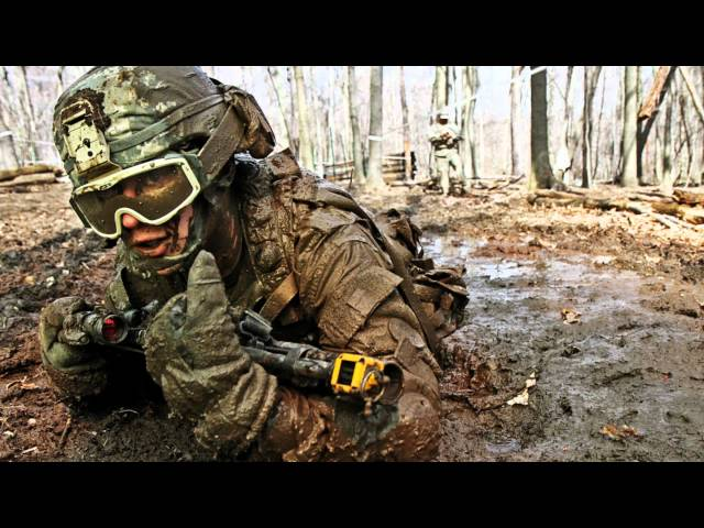 US Army Cadence - Down by the River HD
