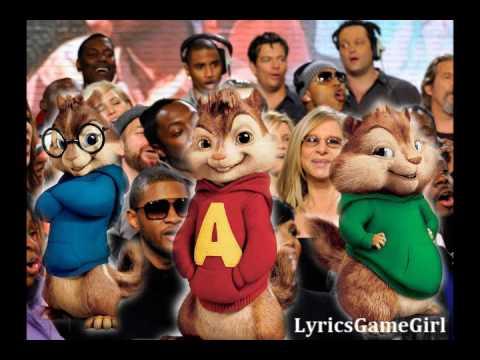 We Are The World 25 For Haiti - Chipmunk Version w/Lyrics [HQ]