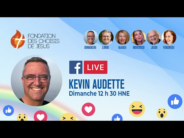 Facebook Live quotidien 02/05/2021 - Devenir une étoile à travers le monde