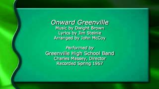 Onward Greenville - Green and White