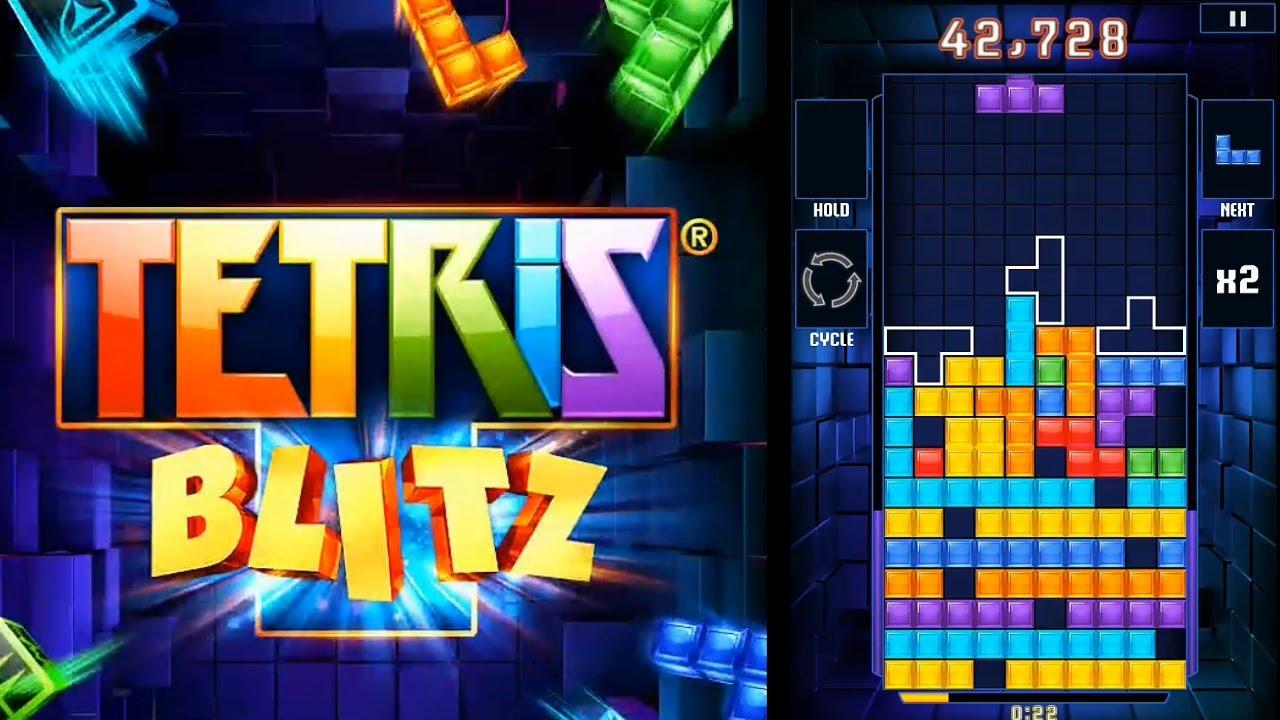 لعبه TETRIS® Blitz v3.0.3 مهكره جاهزه