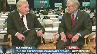 Ron Paul on Hardball with Chris Matthews 10/09/07
