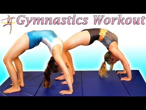 Flexibility Stretches & Lean Strong Arms Workout For Dance, Gymnastics & Cheerleading
