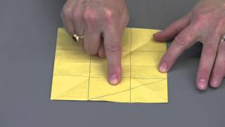 Origami Pythagorean Proof