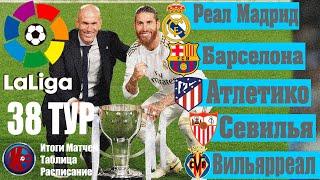 38 тур Ла Лига Заключительный 38 тур Итоги сезона кто вылетел в Сегунду