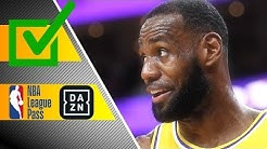 LOHNT SICH DER NBA LEAGUE PASS? WIE GUT IST DAZN? - Die NBA in Deutschland - Maxx