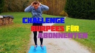 CHALLENGE: Burpees für Abonnenten | 4K