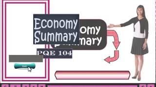 elearning course sample ECONOMY SUMMARY