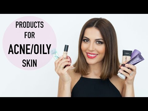 Products For Oily + Acne Prone Skin