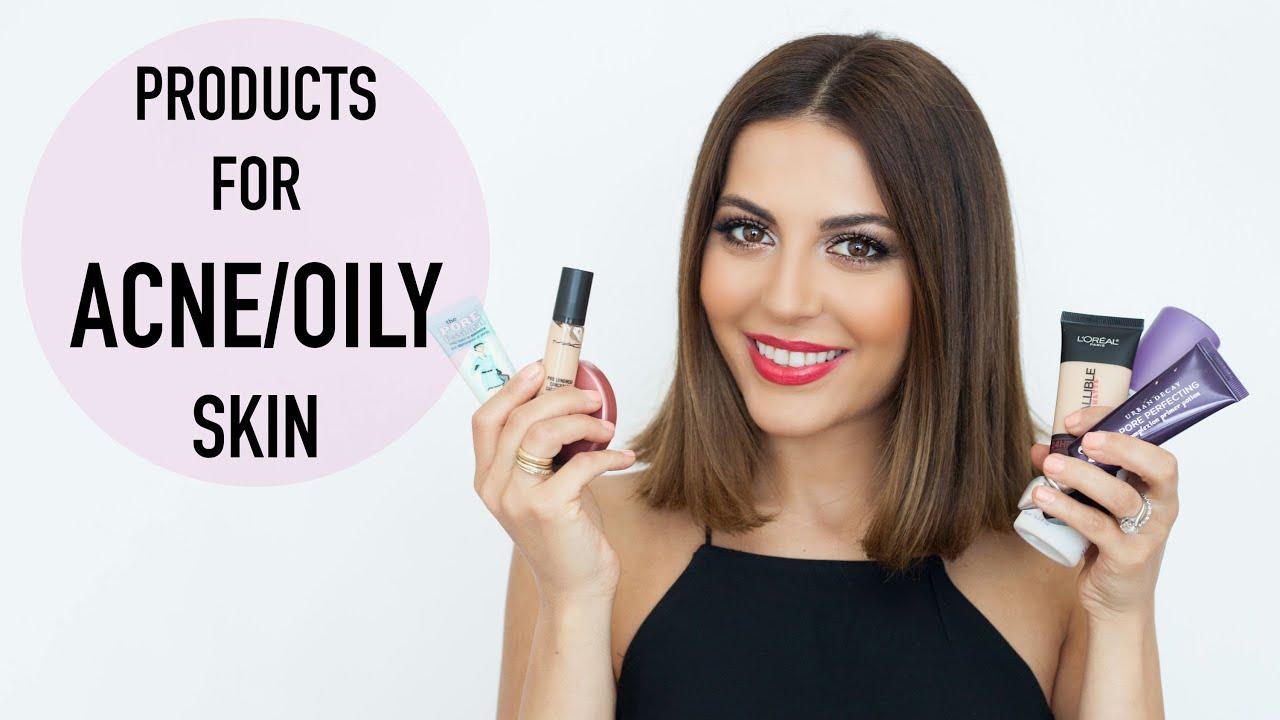 oily acne skin prone