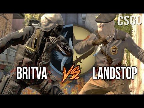 CS:GO - BRiTVA VS LANDSTOP