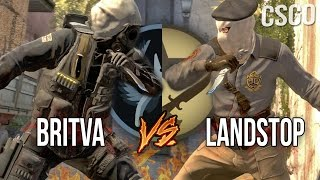 CS:GO - BRiTVA VS LANDSTOP