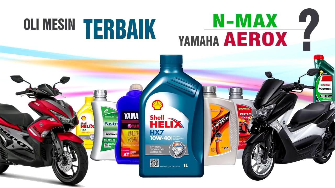 Oli Mesin Terbaik Yamaha Nmax Aerox Dan Motor Matic Youtube Shell Advance Ax7 Scooter 10w 40 4t 08l Best Oil Machine For Nvx And