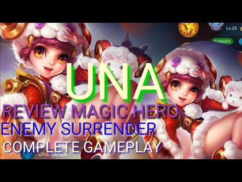 HEROES EVOLVED - UNA / ENEMY SURRENDER / COMPLETE GAMEPLAY / SUPPORT HERO / MAGIC HERO / REVIEW