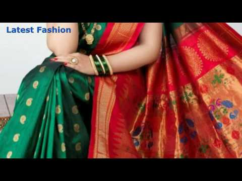 Paithani sarees from maharashtra | paithani sarees blouse design