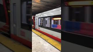 New 2 cars Siemens 2017 & 2011 outbound not in service