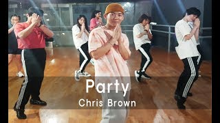 Chris Brown - Party / Dance Choreography 홍대댄스학원