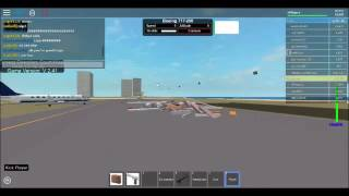 Dynamic Flight Simulator Part 4 (Takeoff and landing from KMG to JAX; Cockpit View) - ROBLOX